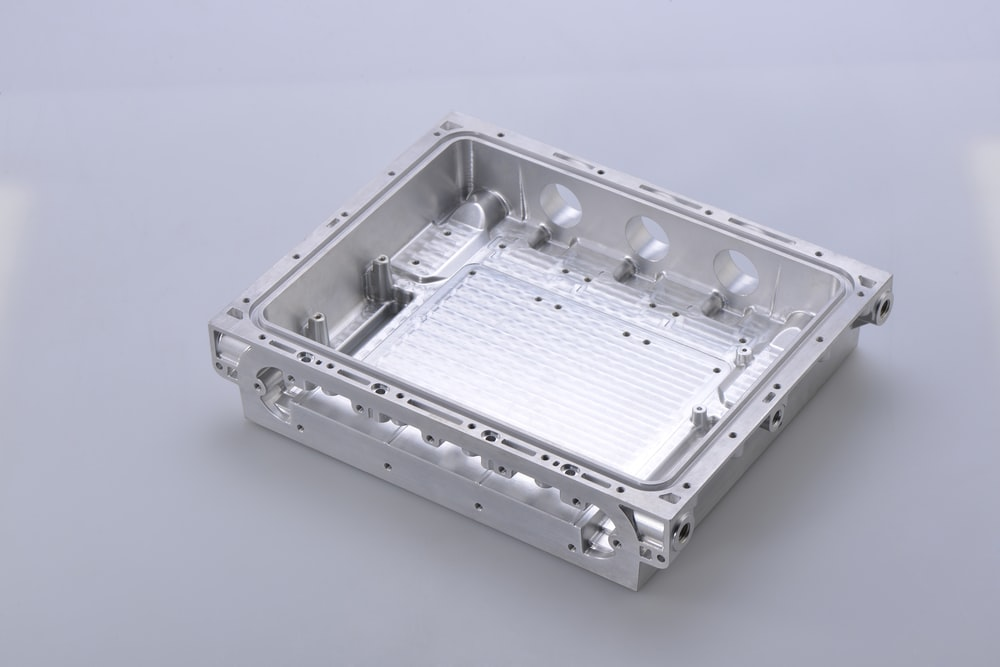 white and silver electric device