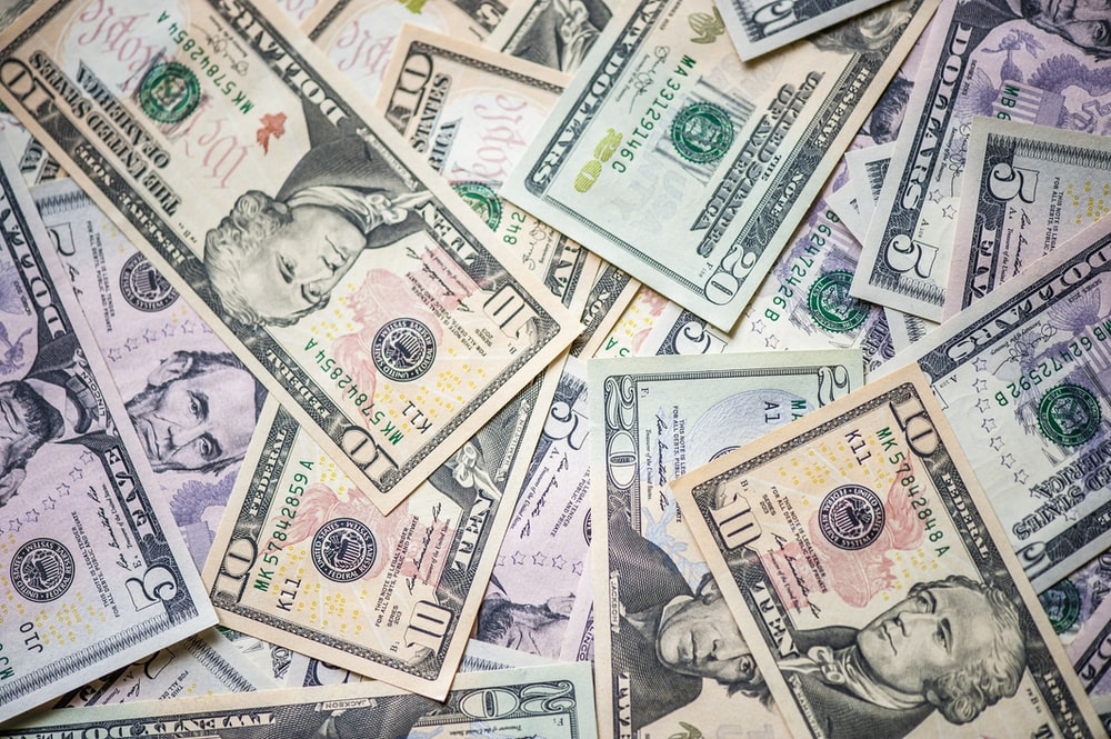 10 10 and 10 us dollar bill