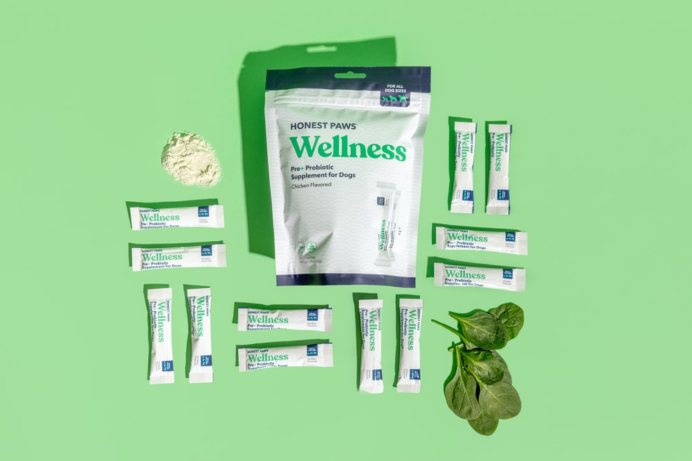 white and green plastic pack