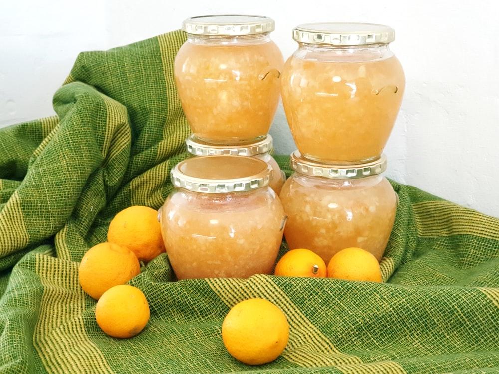 Mutfakta kışa hazırlık marmelat yapımı