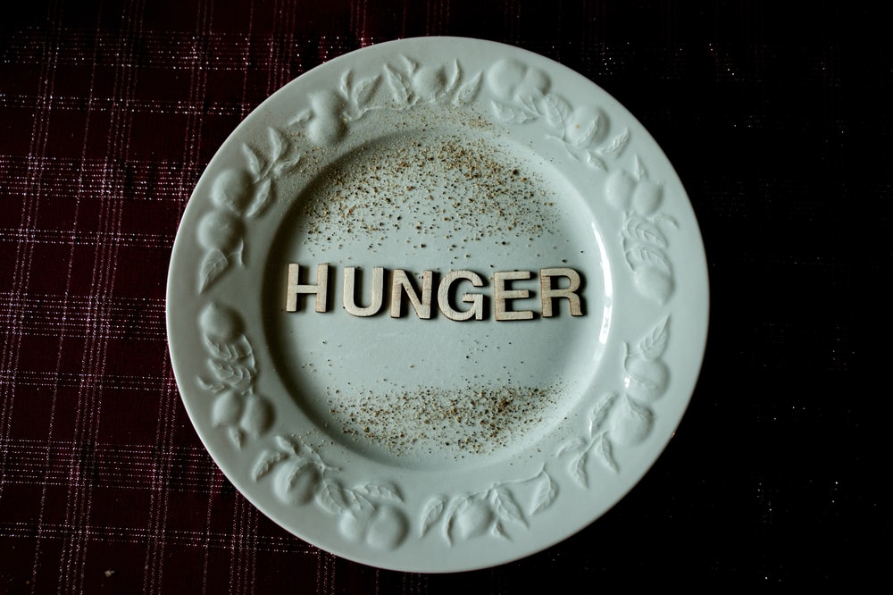 white and gold ceramic round plate