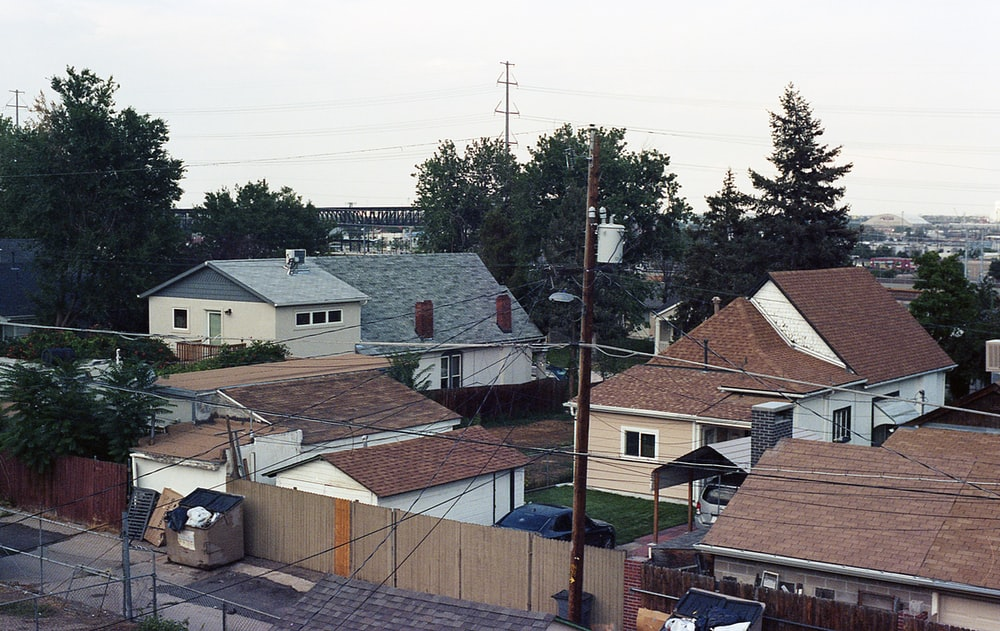 brown and white concrete houses during daytime