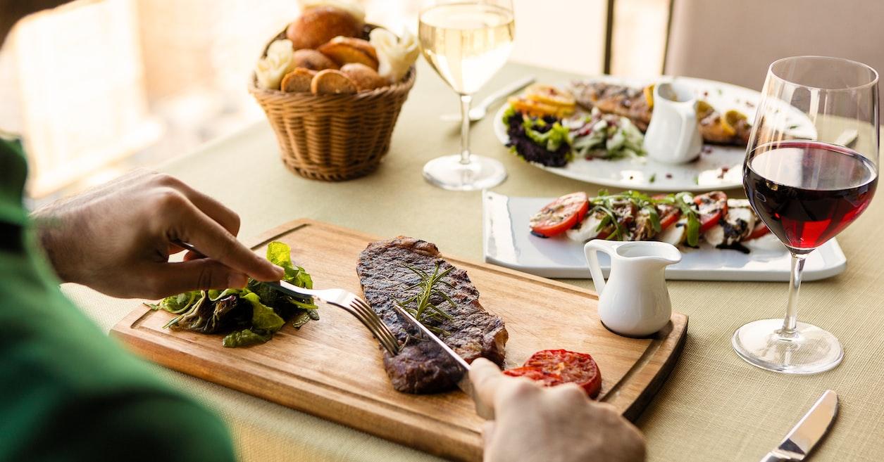 Sirloin in restaurants in Bern