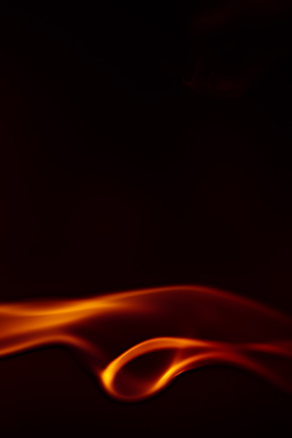 red and yellow fire illustration