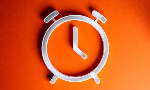 clock pickup line