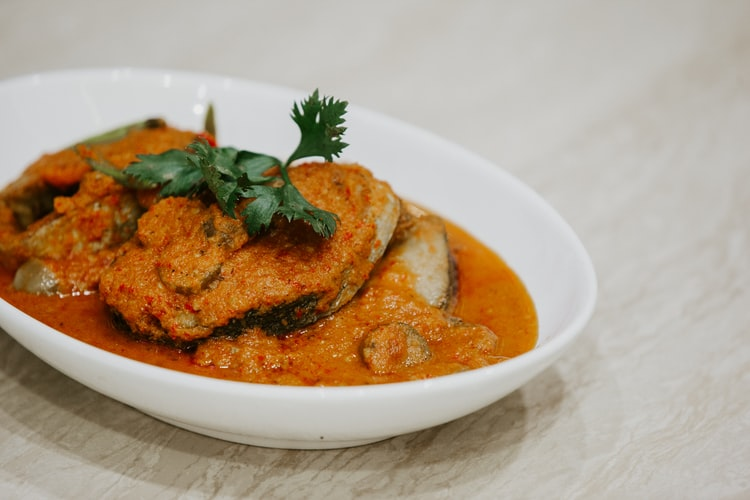 Fish curry in the Maldives
