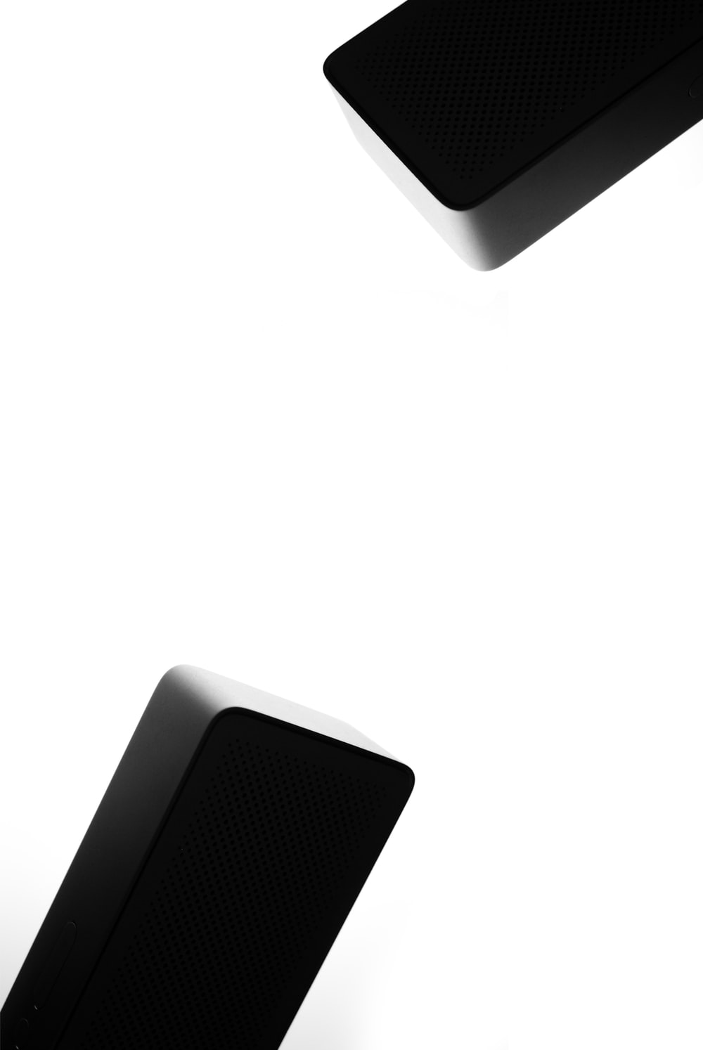 white and black square frame