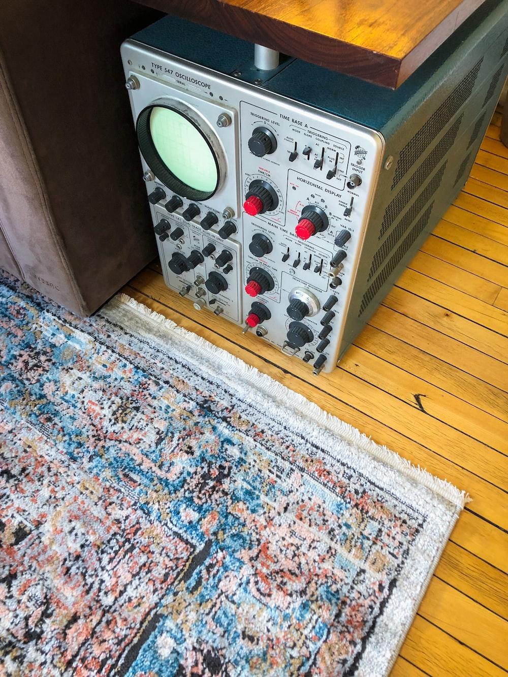 white and green remote control