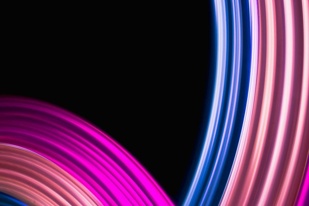 purple and white swirl line