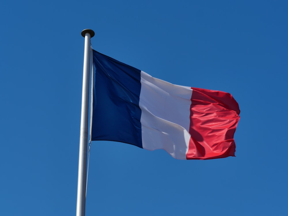 white red and blue flag