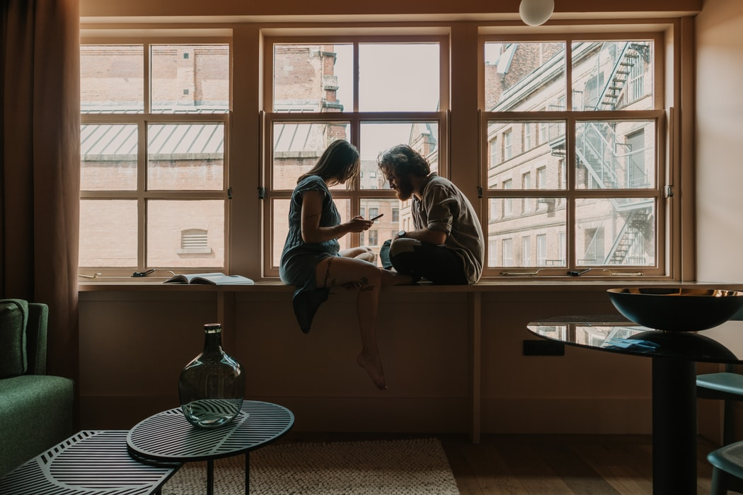 couple getting to know each other