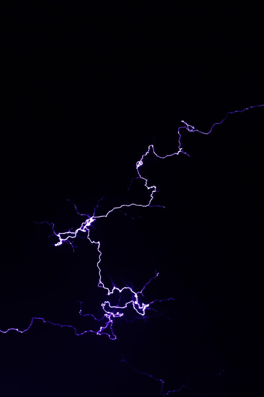blue and white lightning illustration