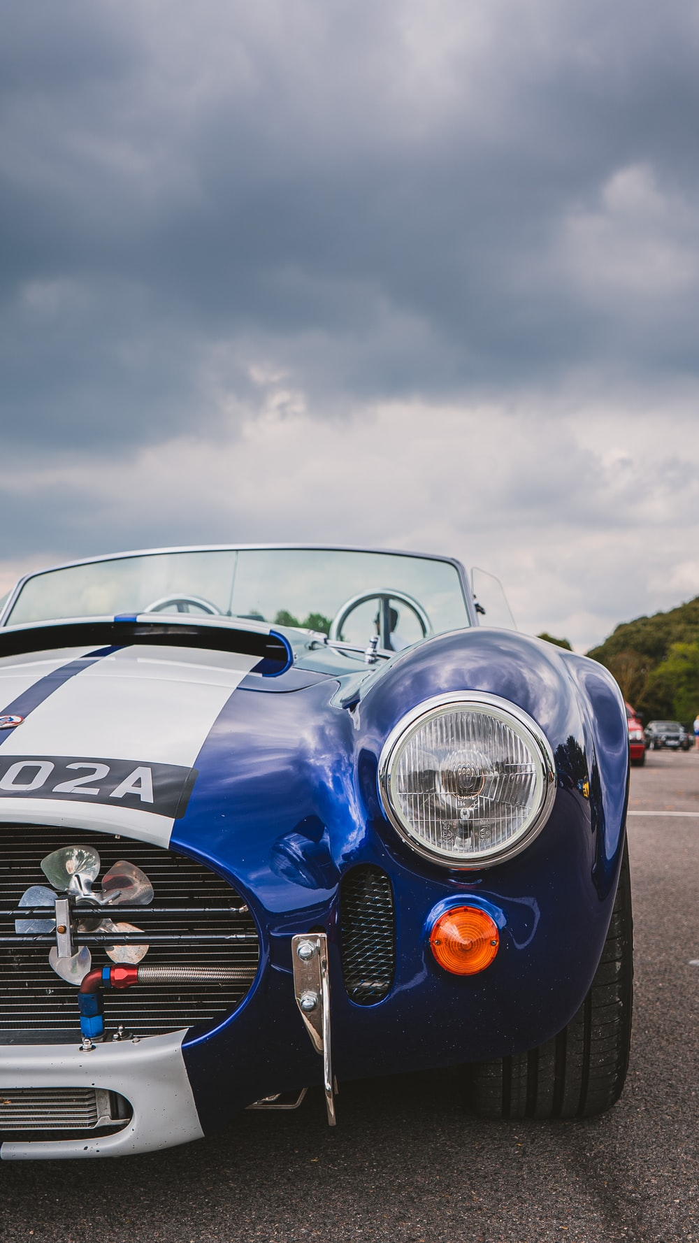 blue bmw m 3 coupe
