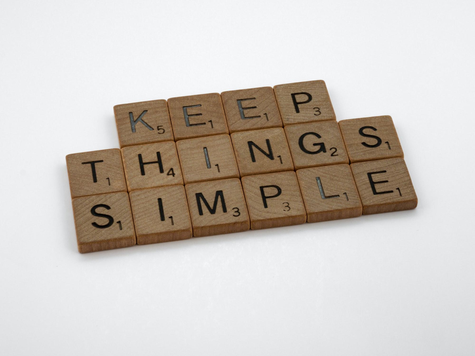 Simplify. Then Simplify Again.