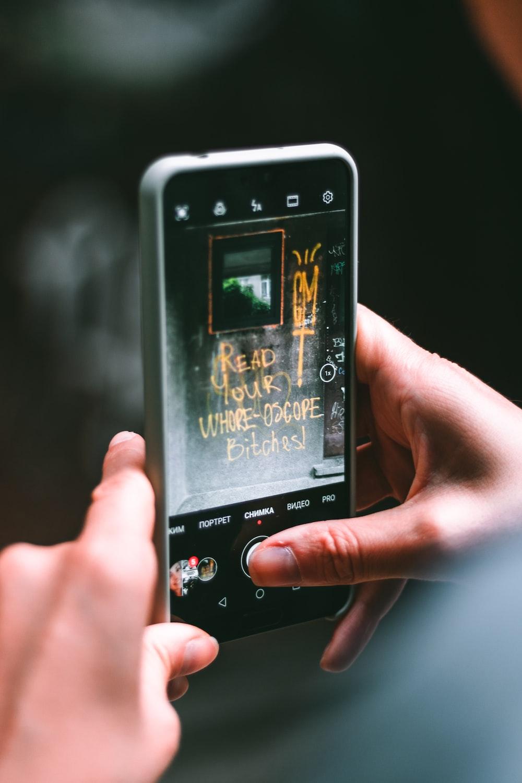 black and white sony xperia smartphone