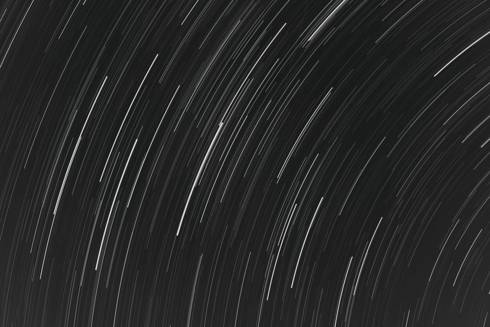 white and black light streaks