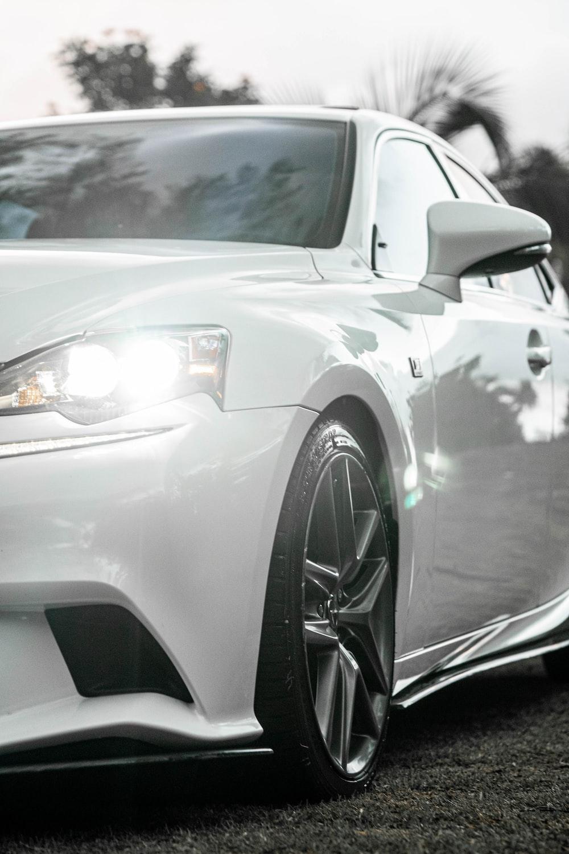 white mercedes benz c class