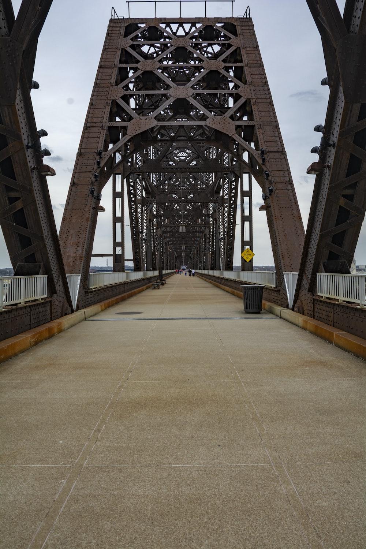 brown and gray bridge during daytime