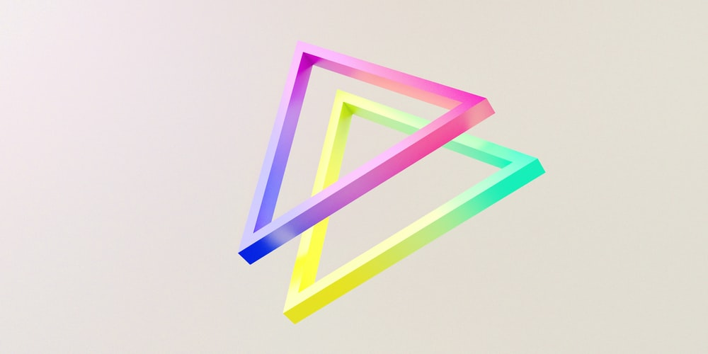 pink and white letter y illustration