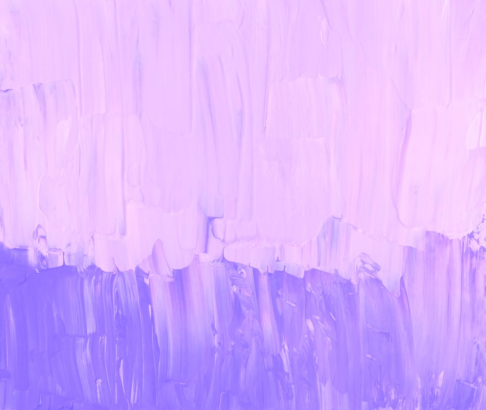 purple and white abstract painting
