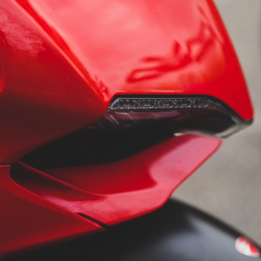 red and black honda car