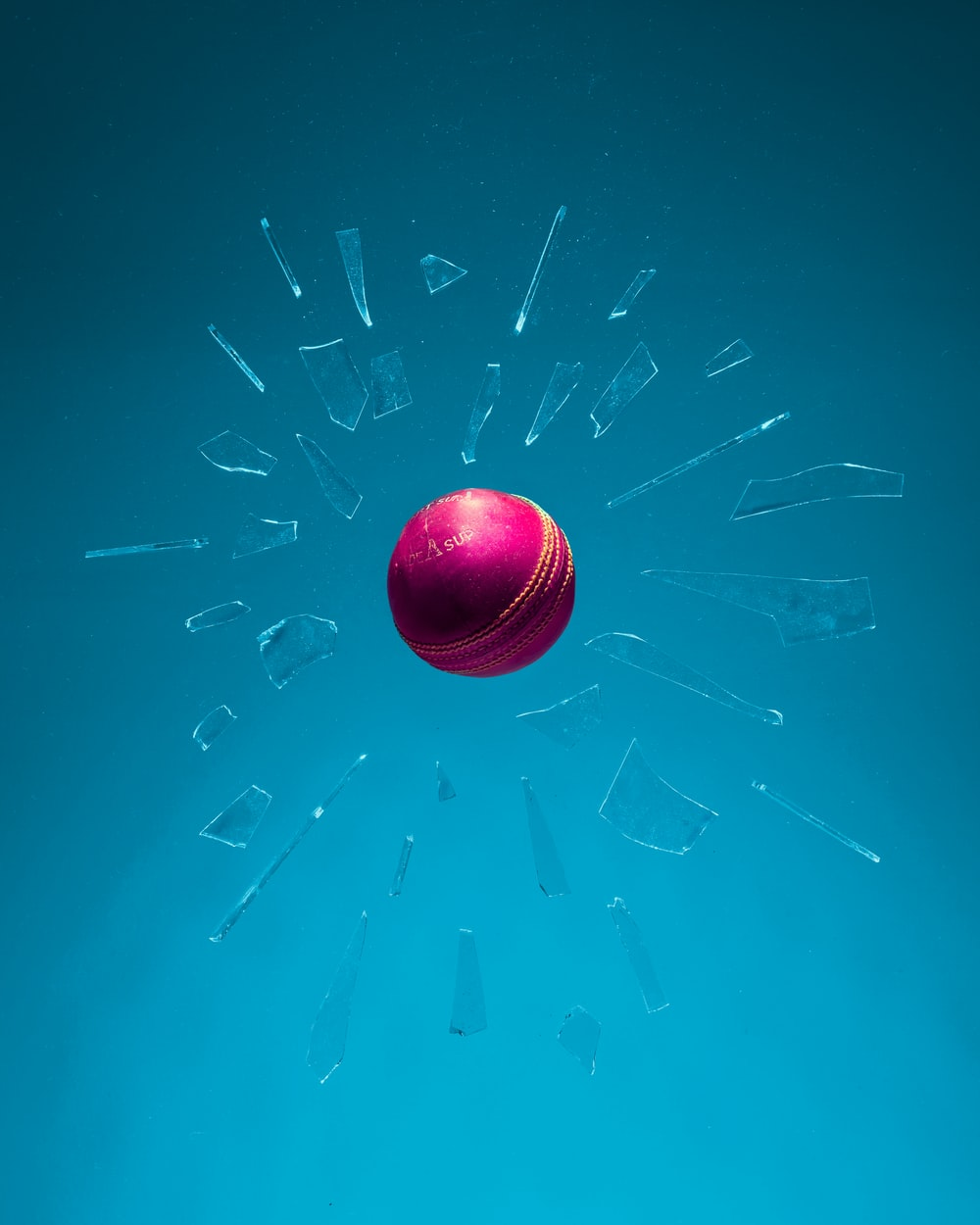 red and blue ball illustration