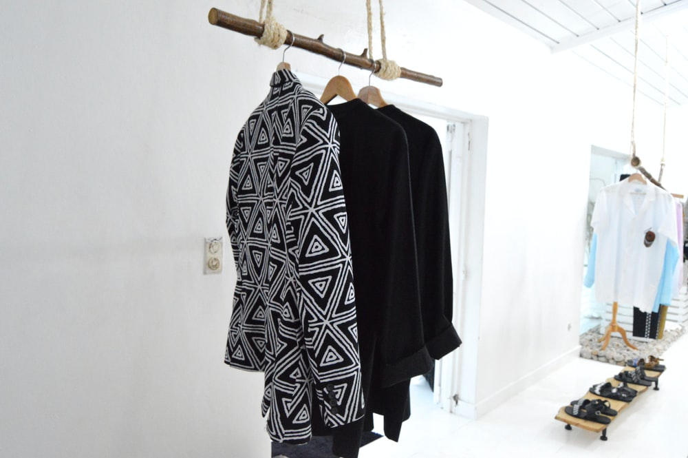 black and white tribal long sleeve shirt