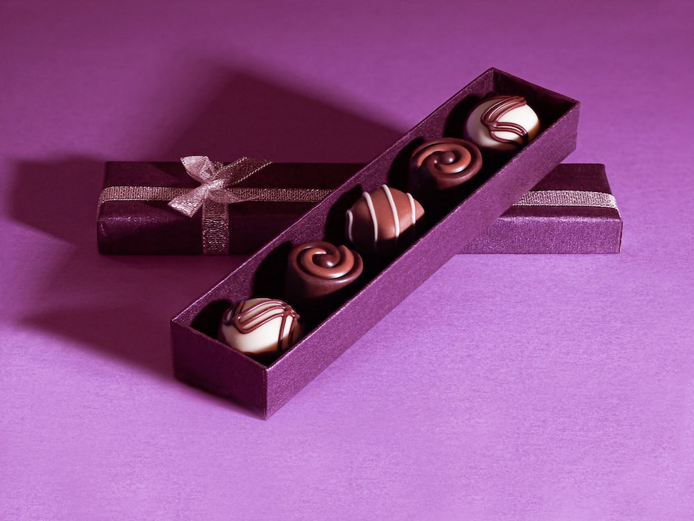 black and gold gift box