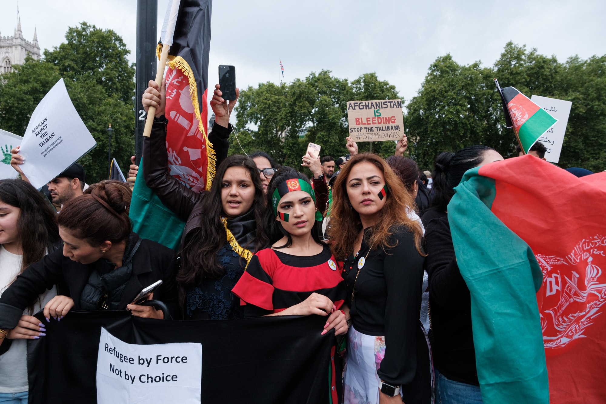 Stop Killing Afghan Protest in London