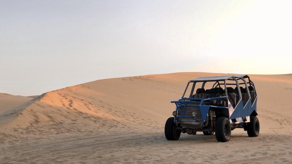 black jeep wrangler on desert during daytime