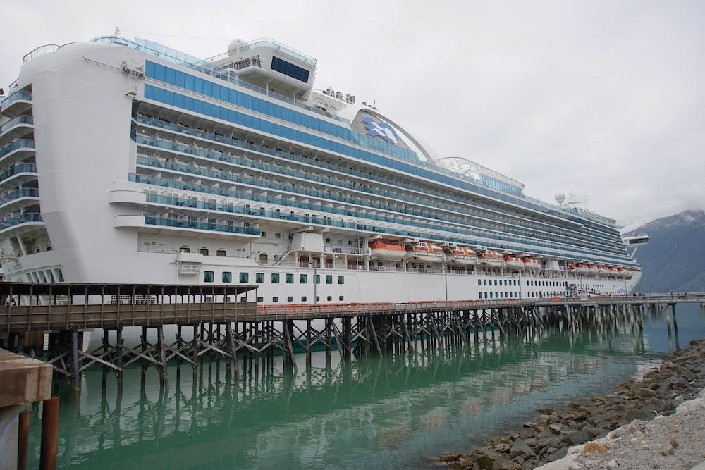white cruise ship on water during daytime