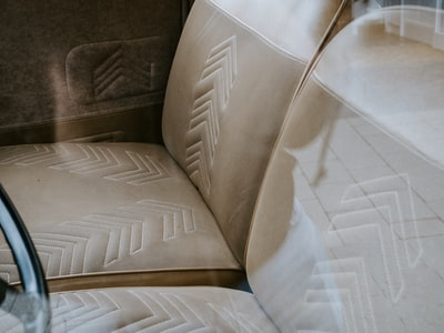 white and gray sofa chair