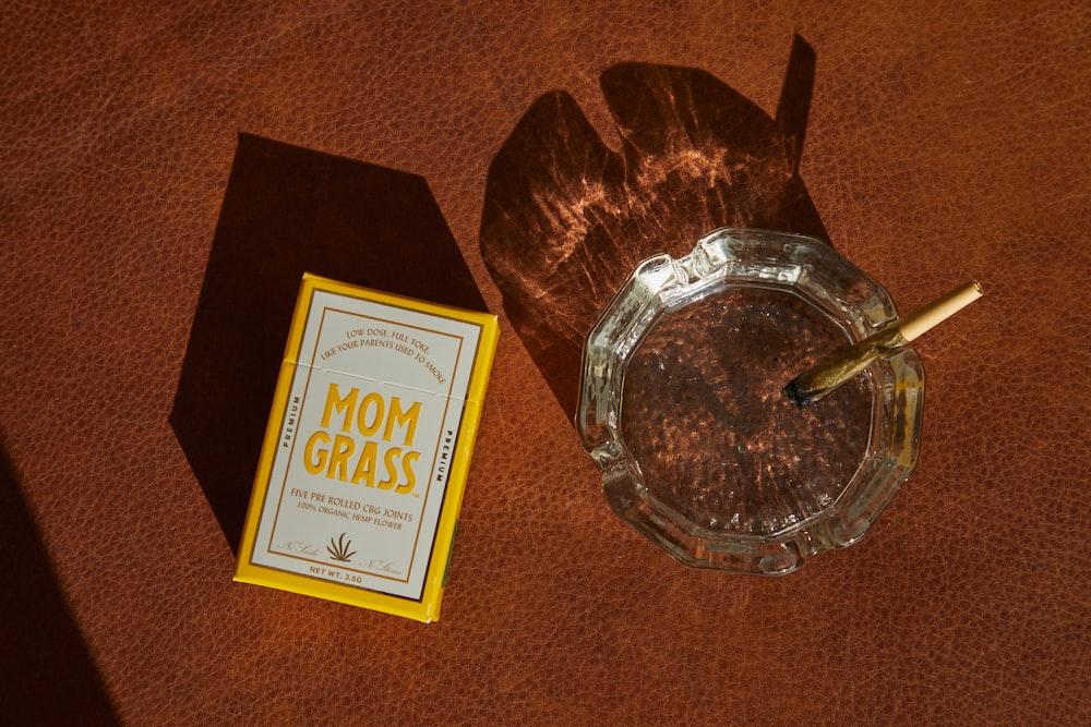 UNKs gold cigarette pack