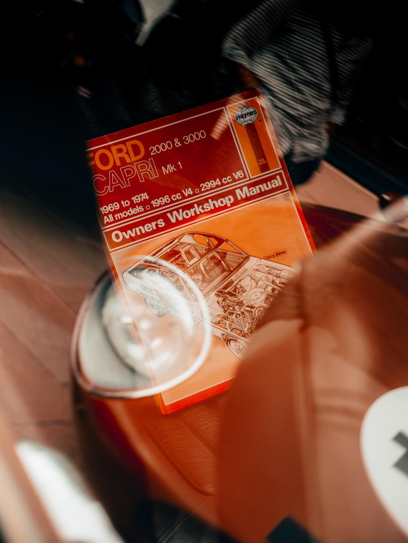 orange and red plastic pack
