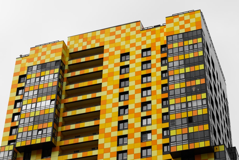 brown and beige concrete building