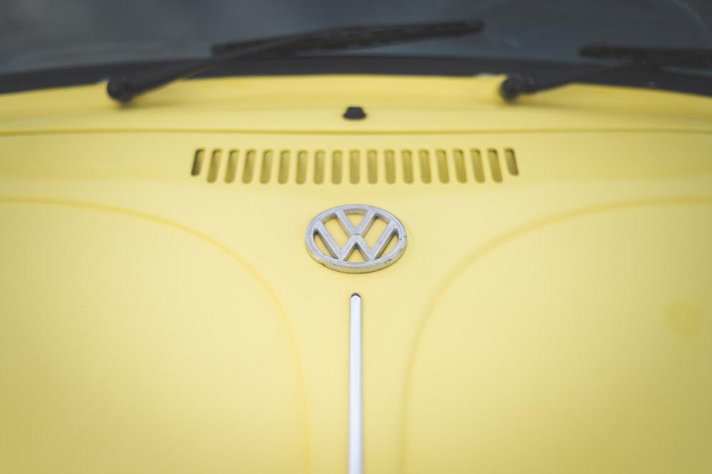yellow and black car door
