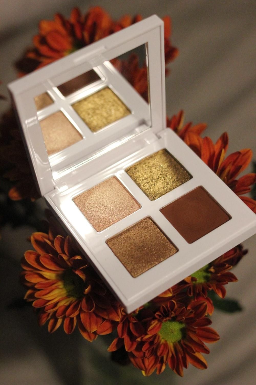 white and brown square box