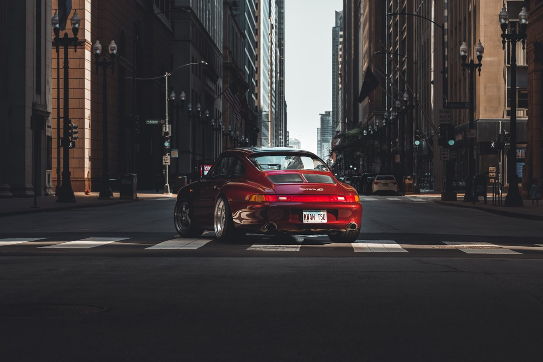 Porsche 911 In Arena Red In Chicago, Il. - unsplash