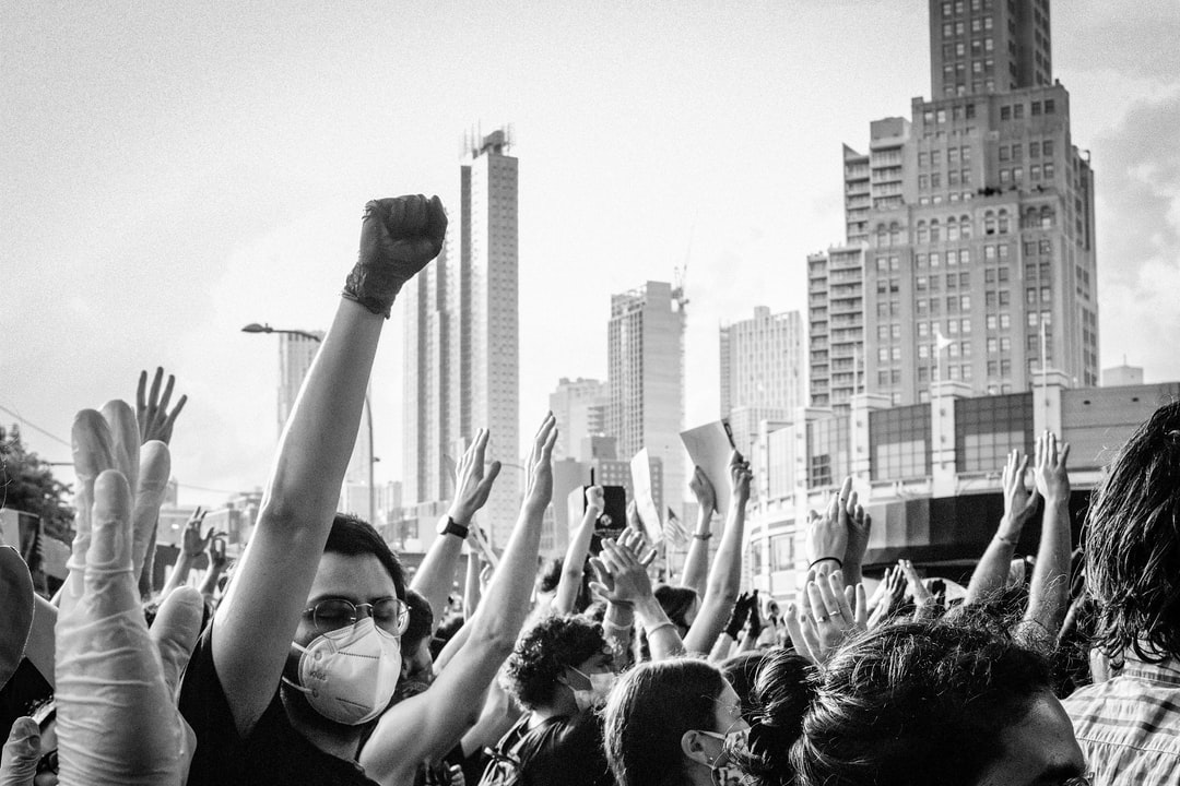 Blm Protest In Brooklyn Photo By @flowclark - For More, Visit: Flowclark.com - unsplash