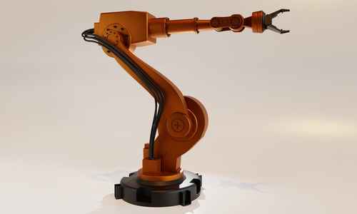 robot pickup line