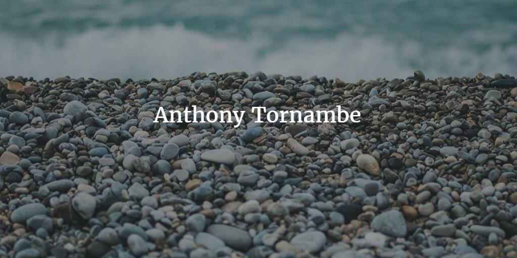 Avatar of user Anthony Tornambe
