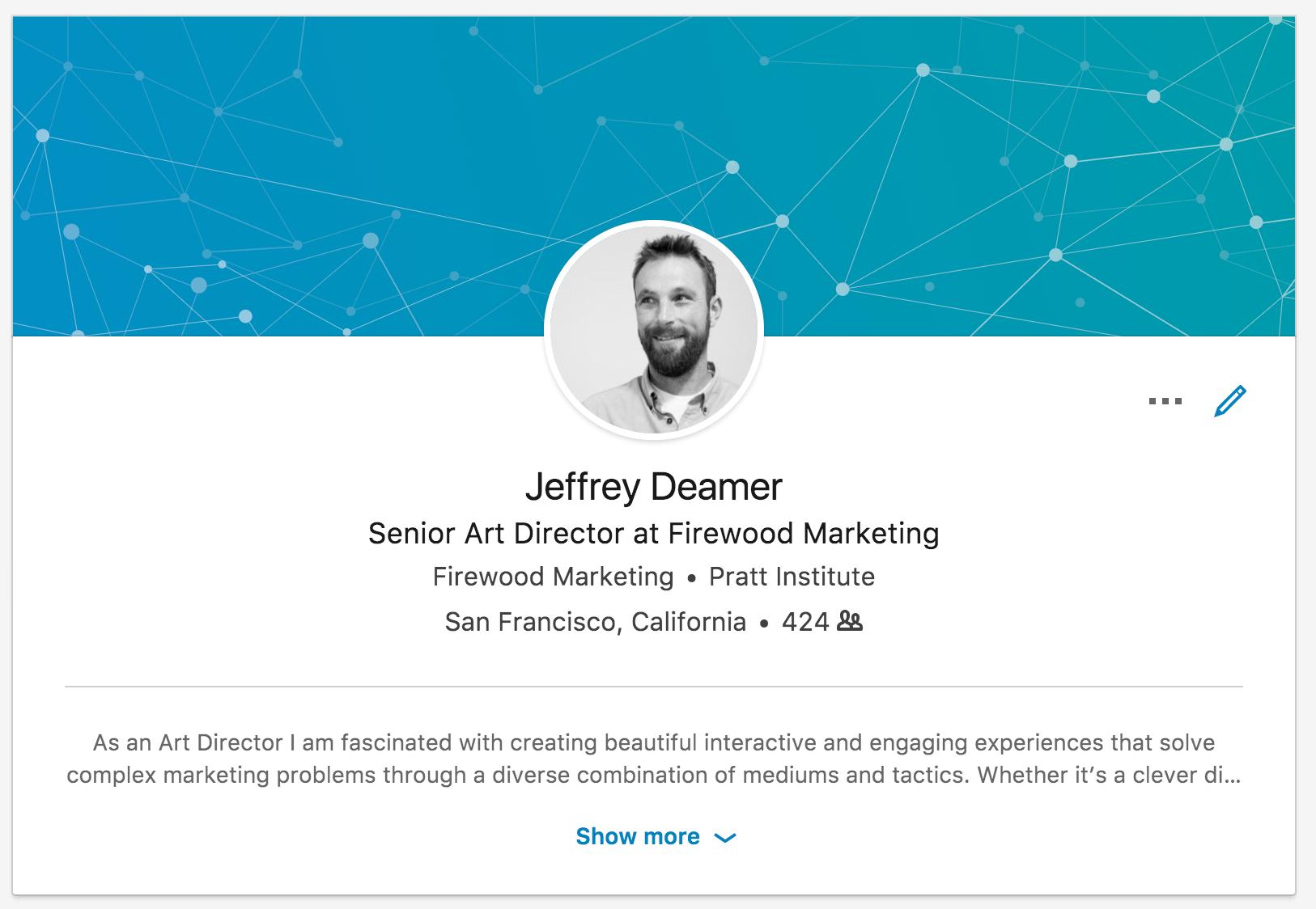 Go to Jeff Deamer's profile