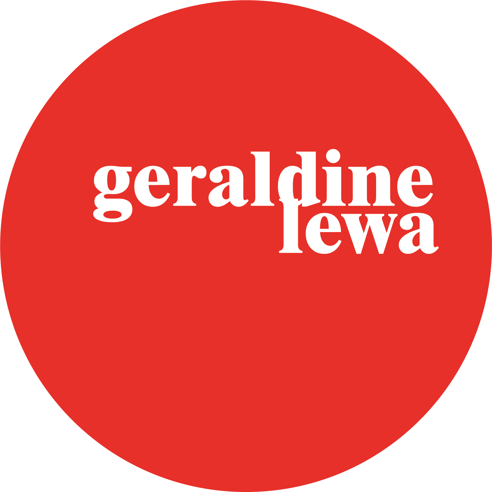 Go to Geraldine Lewa's profile