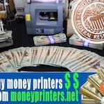 Avatar of user buy money printers machine