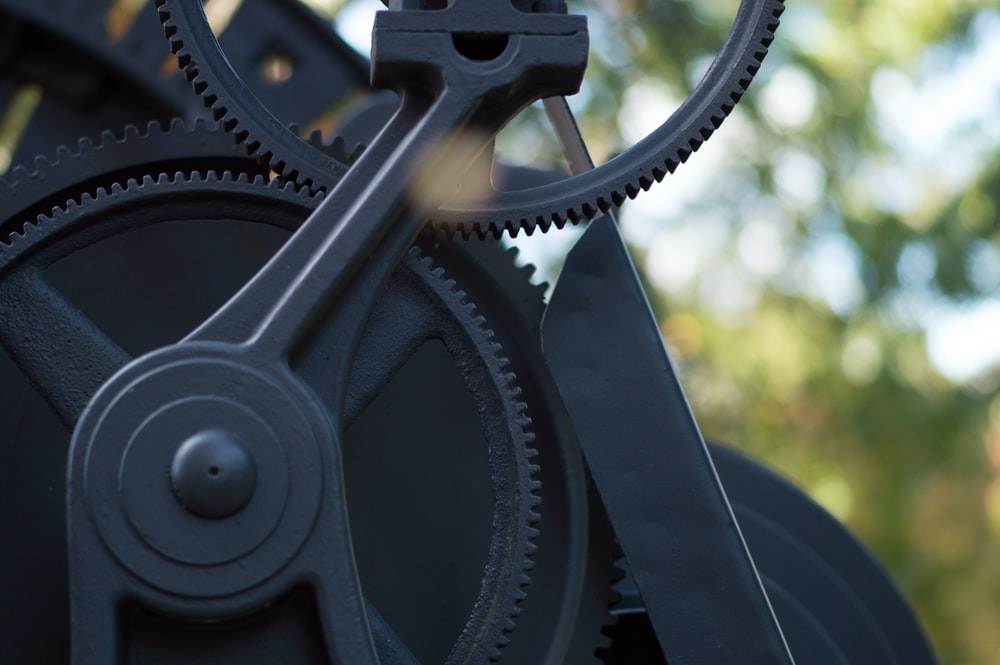 black gear
