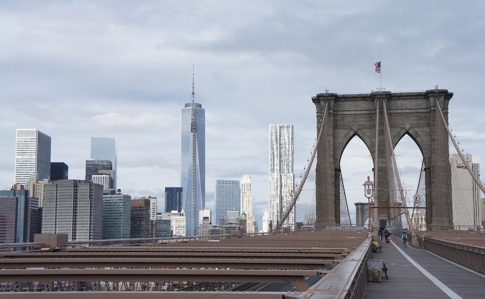 landscape photography of Brooklyn Bridge, New York