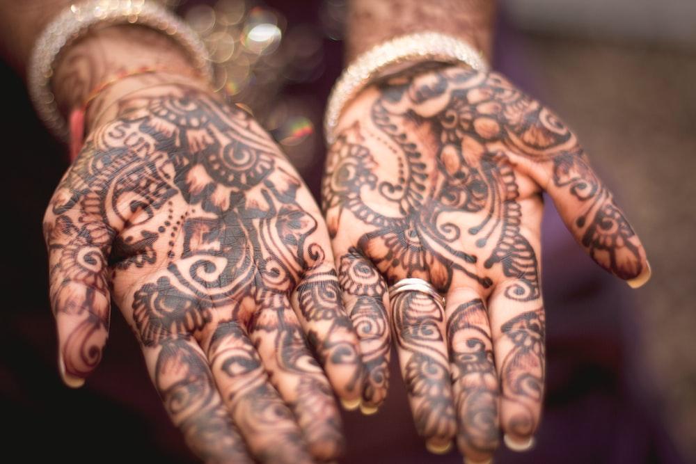 Group Mehndi Hands : Hand tattoo henna and palm hd photo by james douglas