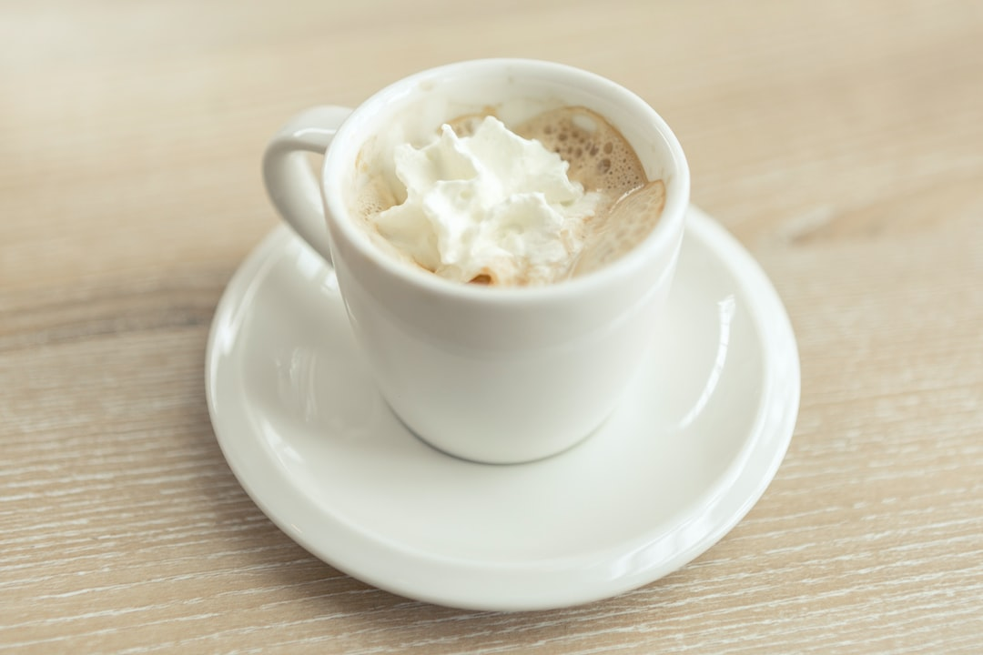 Espresso with whipped cream