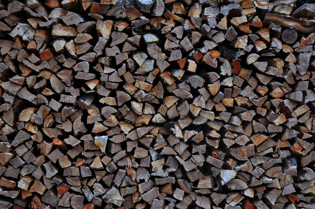 Brown and gray wood