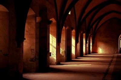 photo of empty hallway